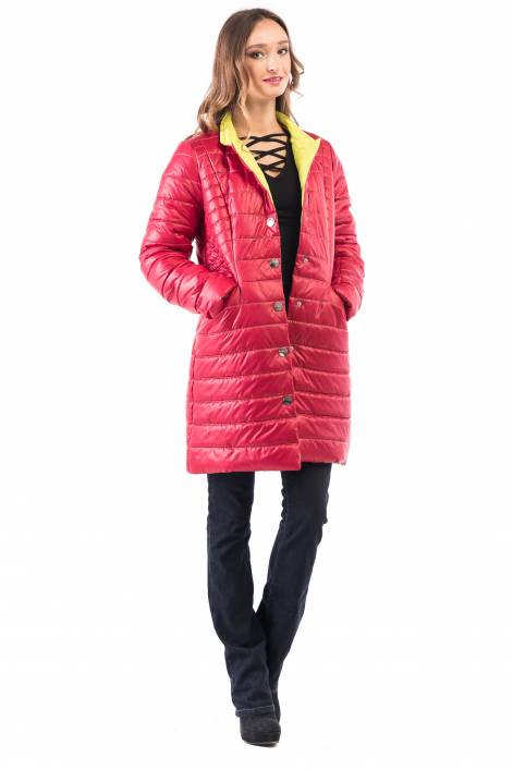 Quilted long jacket-coat 1817