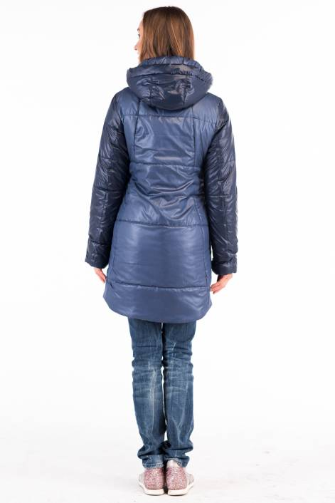 Two-color coat-jacket 1710